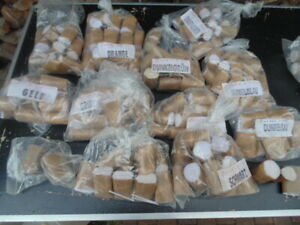 ca 150 Packungen Kerzendochte für Kerzensand je ca 5 cm lang (pack 150 Dochte)