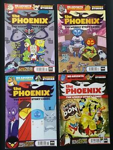 4 X The Phoenix The Weekly Story Comic No.120, 121, 122, 123