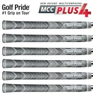 13PCS Sets Golf Pride MCC Plus4 Grips Gray Multicompound Cord Standard Size AU