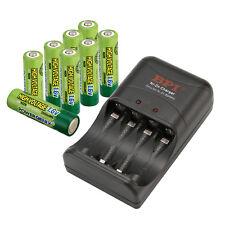 8pcs Nizn 1.6V 2500mAh AA Battery GENIX +Power Genix ZR-PGX1HRAA-4B Charger Set