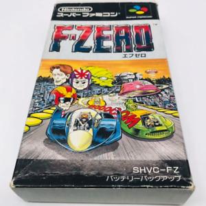 F-Zero Nintendo Super Famicom Japan Complete