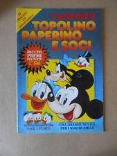 ALBUM TOPOLINO PAPERINO E SOCI I Trasferibili 1983  [Sa40] BUONO