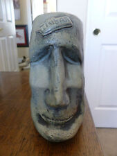 Easter Island Head Tiki Mug - Gray - Fireworks Studio - Glasgow - 1B
