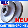 EBC Brake Discs Rear Axle Carbon Disc for Audi A6 4A,C4 BSD601