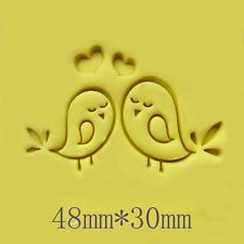 Love Brids Soap Stamp For Handmade Soap Candle Candy Stamp Fimo Stamp