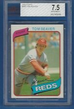 1980 Topps Tom Seaver Cincinnati Reds #500 Baseball Card