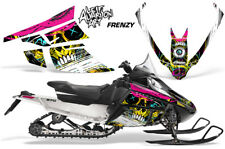 Arctic Cat F Series Sled Wrap Snowmobile Graphics Kit Stickers Decals FRENZY YLW