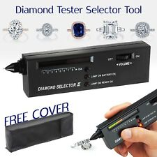 Audio LED Jewellery Tester Diamond Gemstone Authentication Test Selector Tool UK