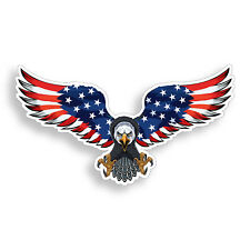 Freedom Eagle USA Sticker American Flag Graphic Car Vehicle Window Bumper Decal