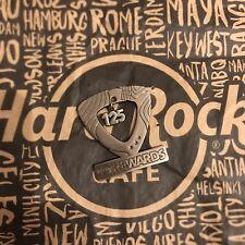 Hard Rock Cafe HRC REWARDS 125TH VISIT Commemorative Lapel Pin New Neu