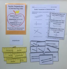 Teacher Made Math Center Resource Parallel Perpendicular & Intersecting Lines