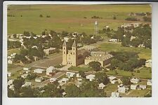 Aerial View of Victoria KS Kansas