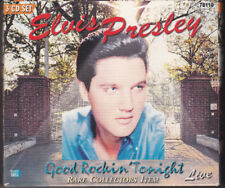 3 CD SET/good rockin 'cette nuit en direct d'Elvis Presley/rare collectors item