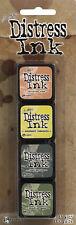 Tim Holtz Ranger Mini Distress Ink Pad Set - Kit #10 TDPK40408