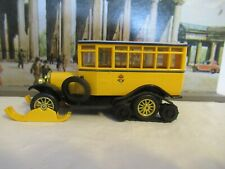 MATCHBOX MODELS OF YESTERYEAR 1923 SCANIA-VABIS POST BUS SCALE 1:49 Y16