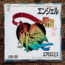 """AEROSMITH ANGEL 7"""" JAPAN vinyl Glam R'n'R WoC GUNS MOTLEY"""
