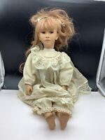 Künstlerpuppe Porzellan Puppe 55 cm. Top Zustand