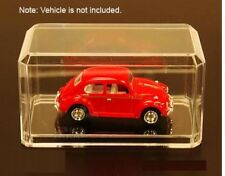 "Clear Acrylic Display Case For 1:64 Scale Diecast Model Cars 3.5"" x 1.75"" x 1.65"