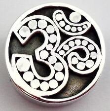 Authentic Lori Bonn Bons 925 Silver Om Slide Charm 29931, New