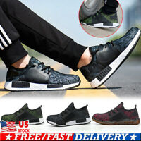 Men's Work Safety Shoes Sneakers Lightweight Indestructible Steel Toe Soft Boots