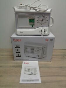 Swan STM202N Vintage Photo frame Rapid Boil Teasmade with Alarm Clock White
