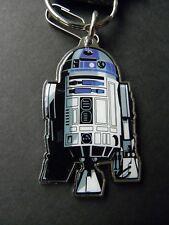 Star Wars R2D2 Keyring Key Keyring Chain 2.25 x 1.5 Metal Enamel Keychain