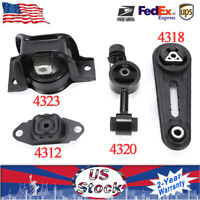Cube 1.8L A4323 A4320 A4318 M847 Engine Motor Mount Set For 07-11 Nissan Versa