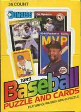 1989 Donruss Baseball Puzzle & Cards 36 Count