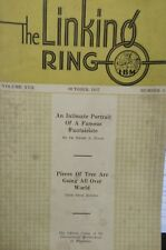 Vintage Here And There 1937 The Linking Ring Historical Issue