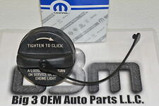 Jeep Chrysler Dodge Plymouth Non Locking Fuel Filler Gas Cap with Tether new OEM