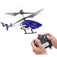 The Repeller 3-Channel RC Helicopter w/ Metal Frame & IR Transmitter Red/Blue
