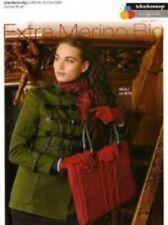 Schachenmayr Extra Merino Big S8232 Laptop Bag Knitting Pattern Leaflet #14D157