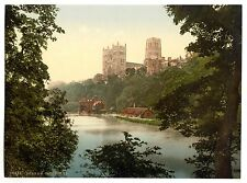 3 Victorian Views Repro Old Photos Pictures Durham Cathedral Castle Posters NEW