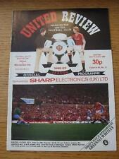 23/10/1982 Manchester United v Manchester City  . No obvious faults, unless desc
