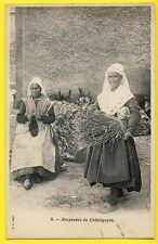 cpa 63 - CHÂTEL GUYON (Puy de Dôme) AUVERGNATES BRAYAUDES Costume Tricot Fagot