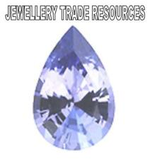 Natural Violet Tanzanite Pear Shape 4mm x 3mm Gem Gemstone