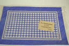 Original DDR Platzdeckchen 8 Stück blau