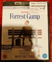 FORREST GUMP 4K ULTRA HD + Blu Ray Region free New and sealed same day dispatch!