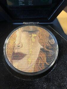 7 Dollar Niue 2020 - 3 OZ Matrix Art - Gustav Klimt Golden Tears 2020