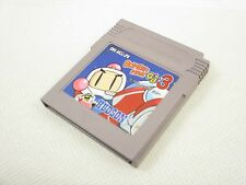 Game Boy Nintendo BOMBERMAN GB 3 Bomber Man Japan Game Cartridge Only gbc