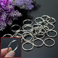 LOT 50 x anneaux pour porte clés clefs metal Nickel, Acier NEUF revendeur SOJ