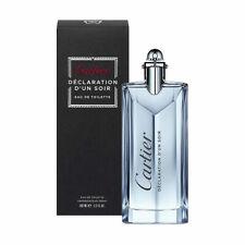 Cartier Declaration D'un Soir for Men Eau de Toilette Spray 3.4 oz