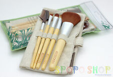 EcoTools 6 Pieces Bamboo Makeup Brush Set (Earth Friendly Beauty) 100% Authentic