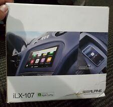 Alpine Ilx-107 Digital Multimedia Receiver With Wireless Apple CarPlay