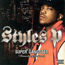 STYLES P Super Gangster Music CD Pre-owned Extraordinary Gentleman