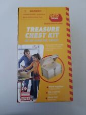 Treasure Chest Kit Wood Carpentry Craft Kit 0127757 by Red Tool Box Sealed Parts