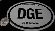 Dodge Magnet DGE Logo Discover Dodge 13,5 cm breit Emblem Ram