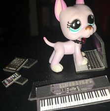 LPS *BLACK* Phone, Keyboard, Laptop, Collar & Tablet+BONUS Accessories FREE SHIP