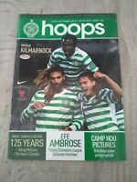 Celtic v Kilmarnock Scottish Football Programme 2012