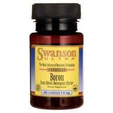 Swanson Boron Albion Bororganic Glycine 6mg, 60 Capsules Bone Support